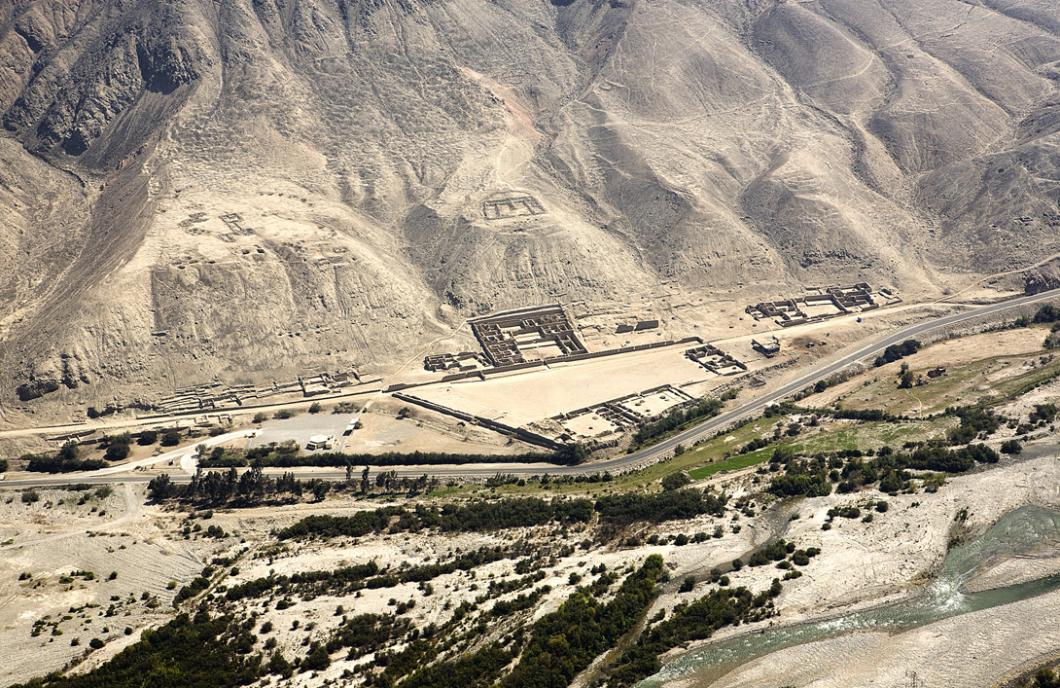 Site de Tambo Colorado au Pérou