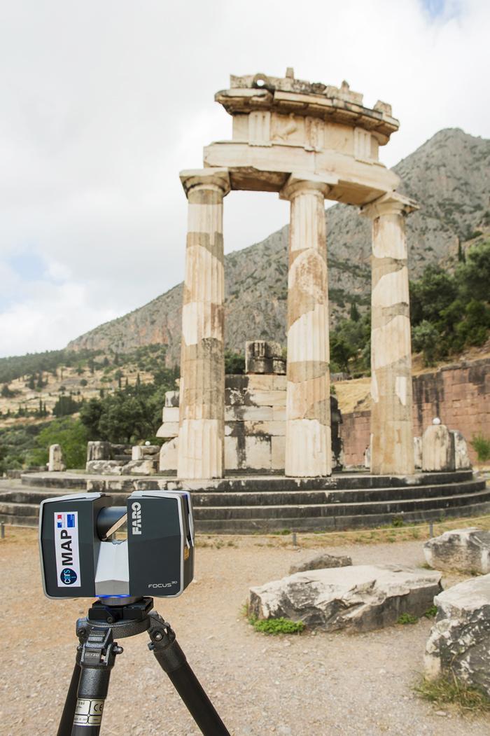 Numérisation de la Tholos de Delphes