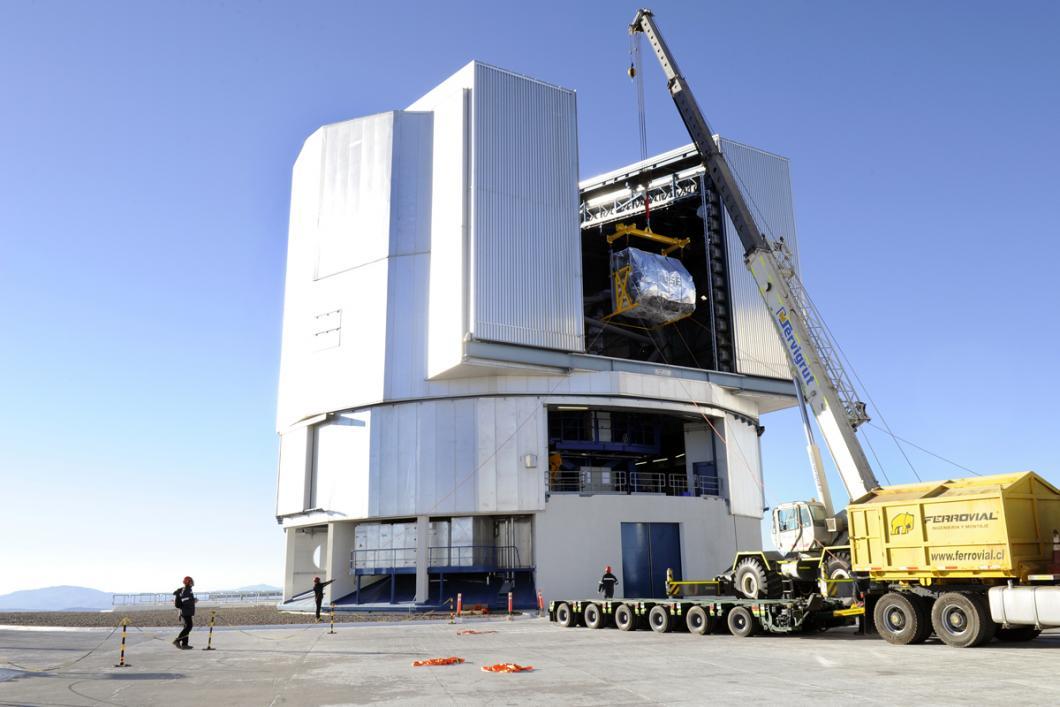 Muse a été déposé dans le télescope baptisé Yepun
