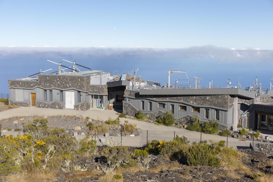 Observatoire du Maïdo, sur l'île de la Réunion