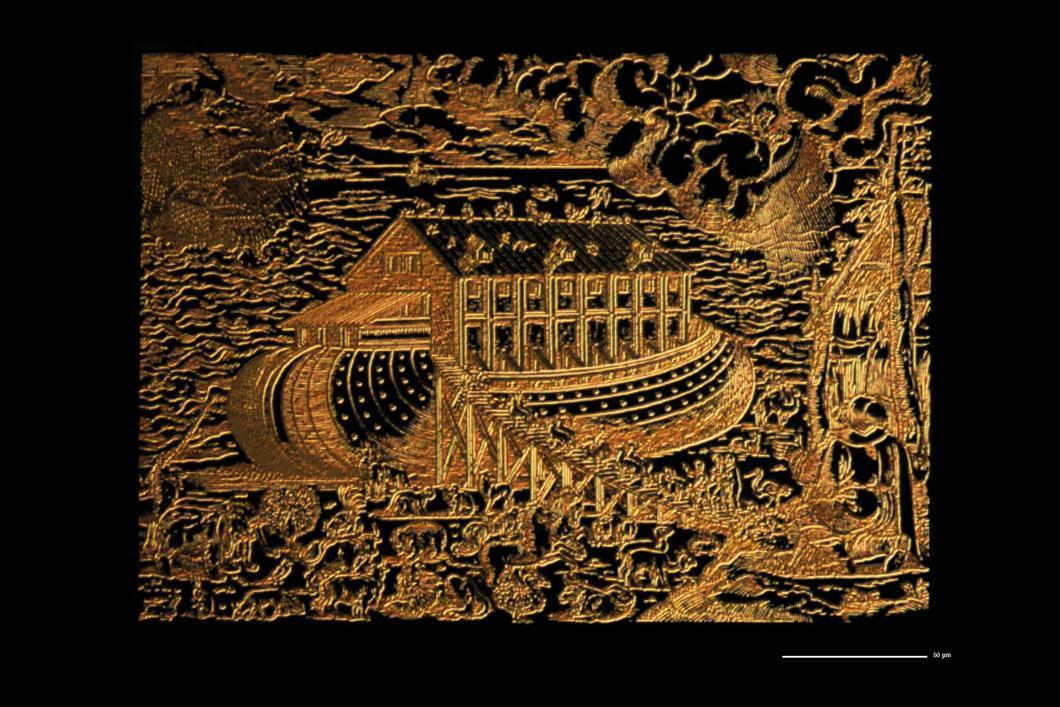 Représentation de l'arche de Noé