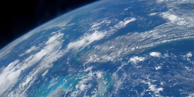 Image de l'eau sur la terre