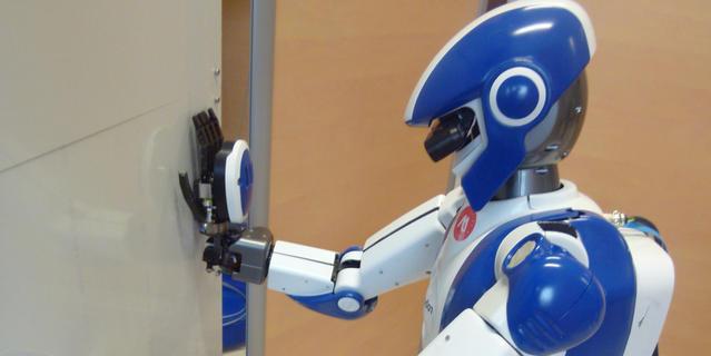 Robot humanoïde CNRS/AIST Japon