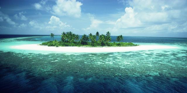 île des Maldives