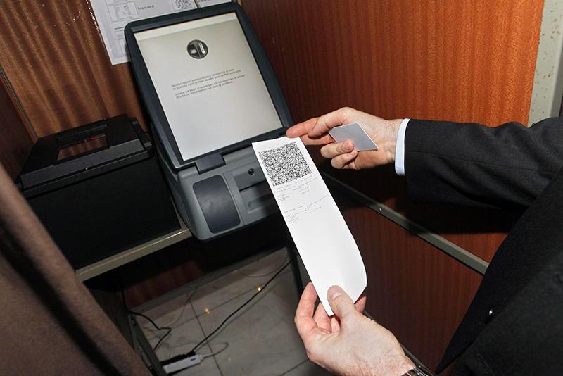 Vote électronique, Belgique