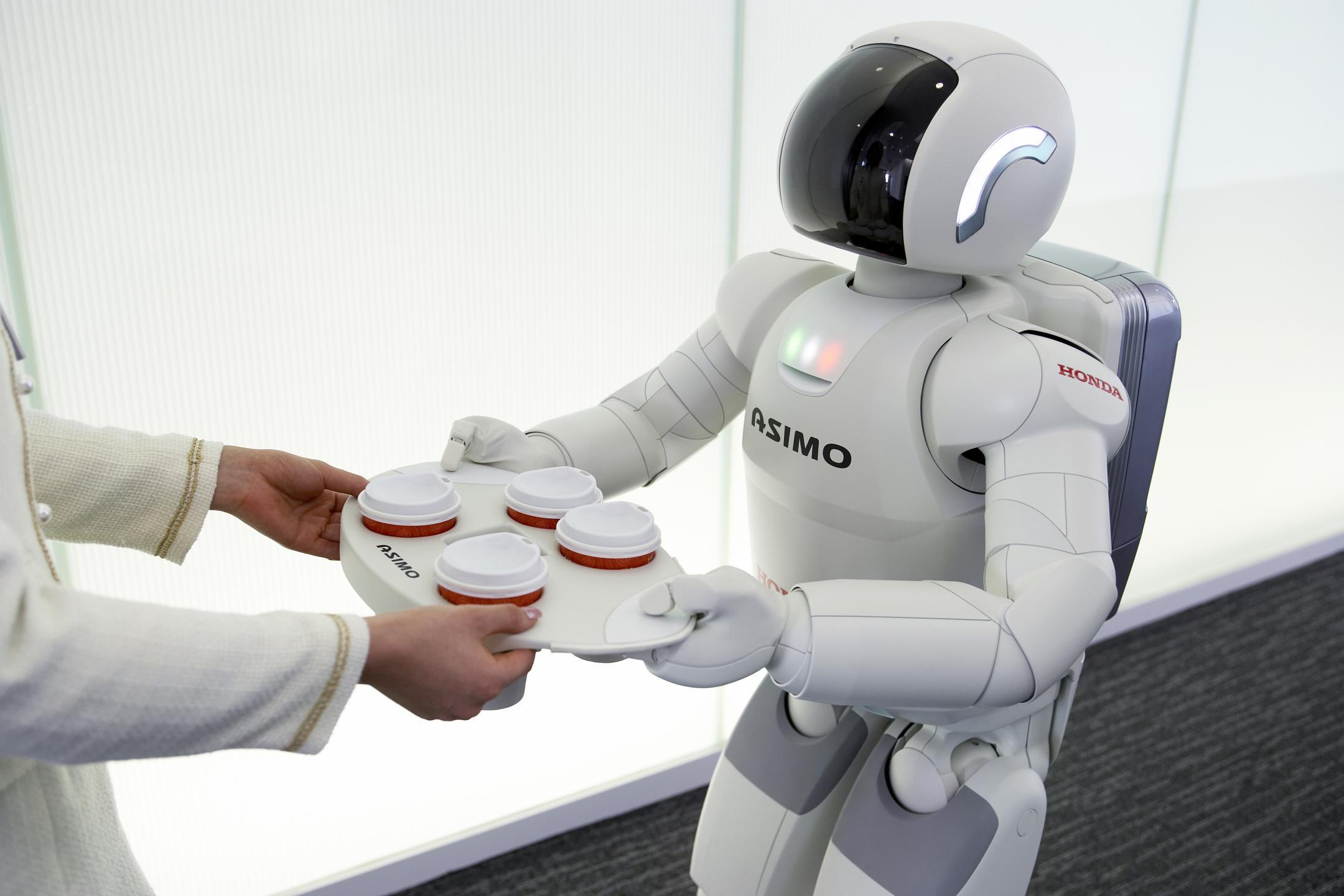 Le robot Asimo