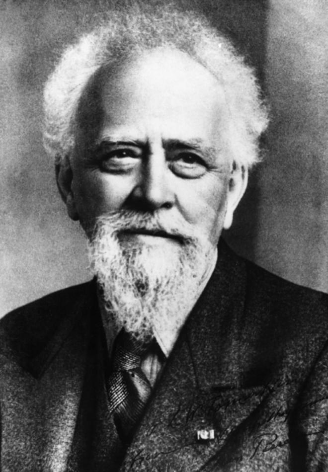 Portrait de Jean Perrin, Prix Nobel de physique en 1926