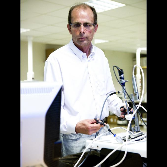 Philippe Cinquin, médaille 2013 de l'innovation.