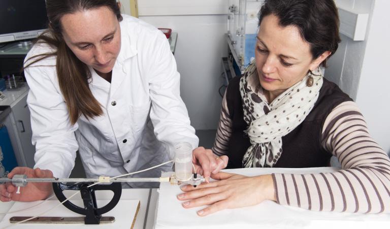 Mesure de la microcirculation cutanée