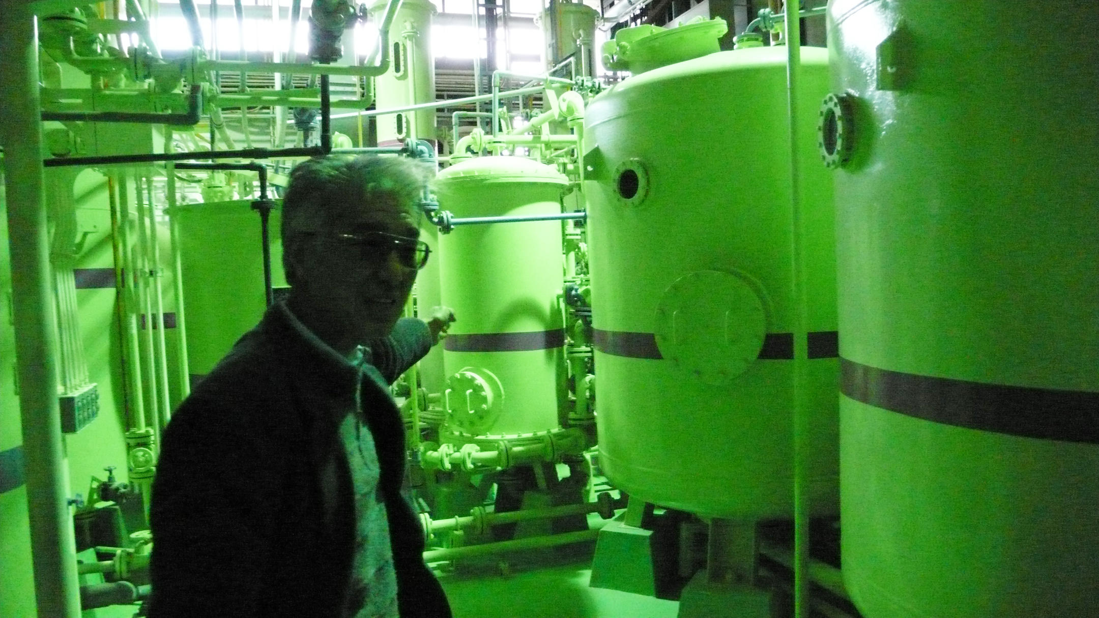 Le professeur Koide