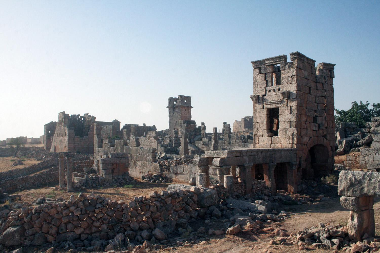 Le village de Géradé en Syrie