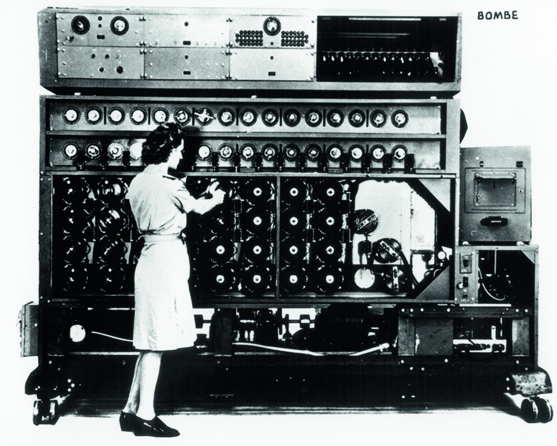 Machine de décryptage des messages codés