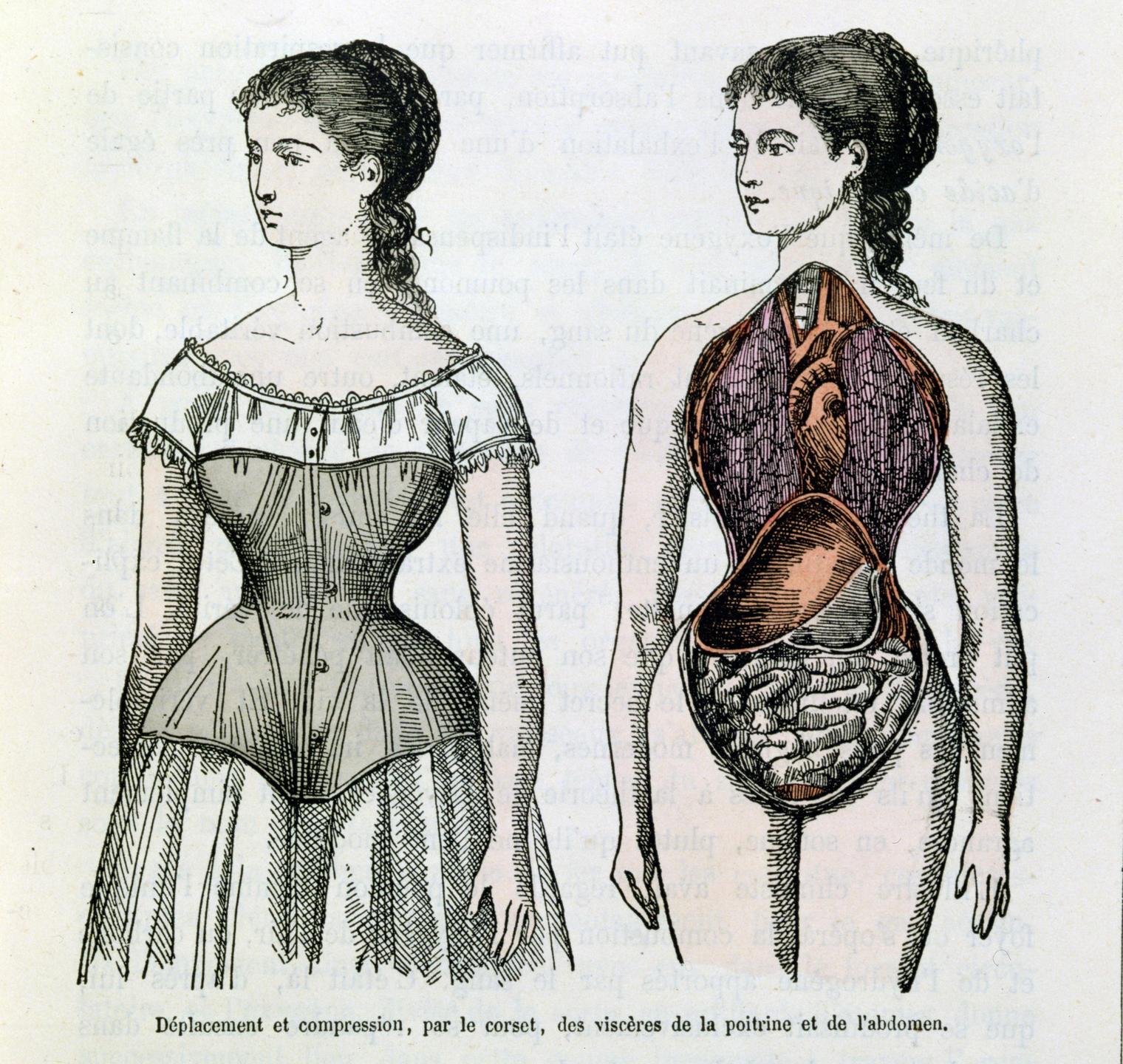 Corset féminin