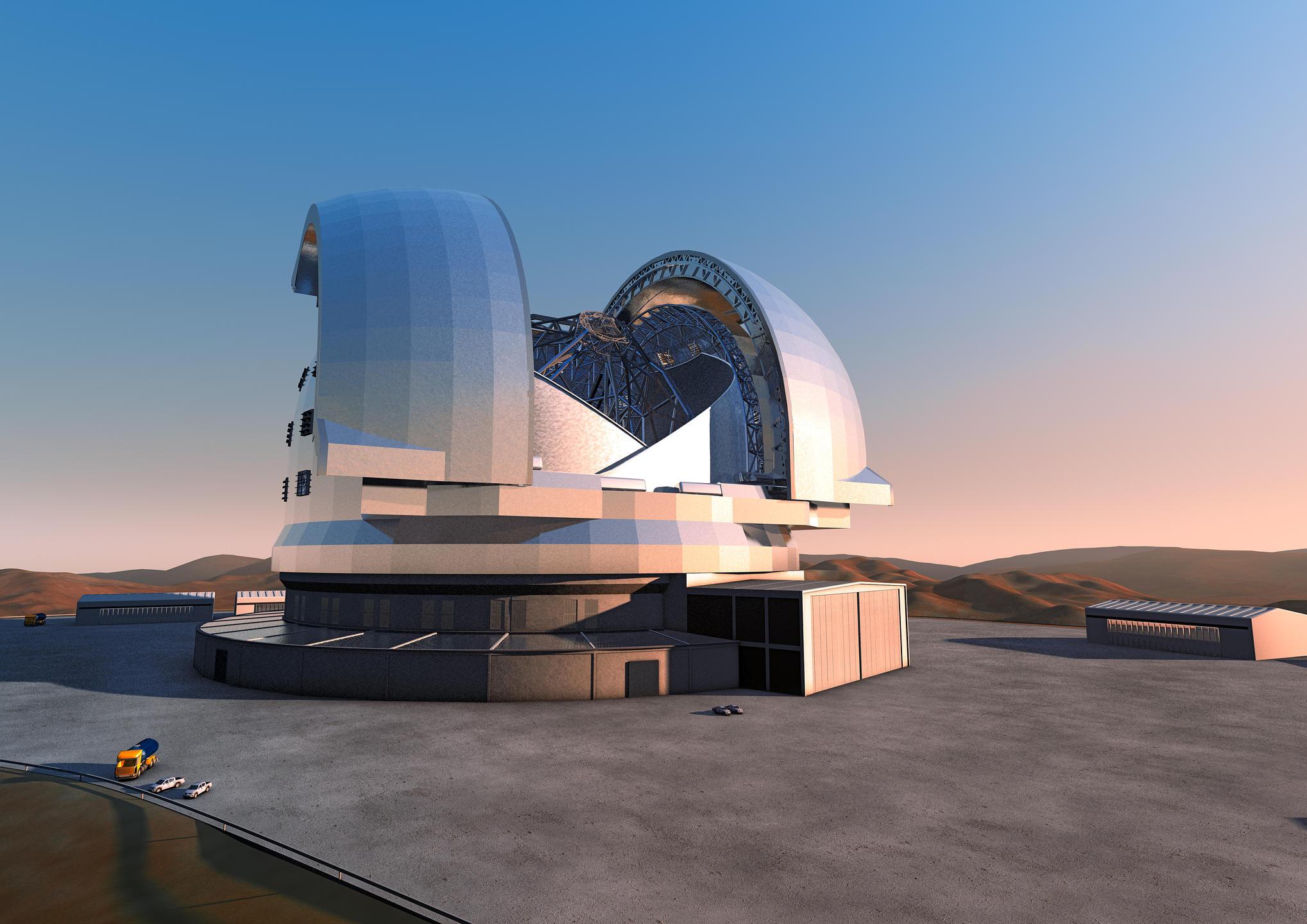 Télescope E-ELT