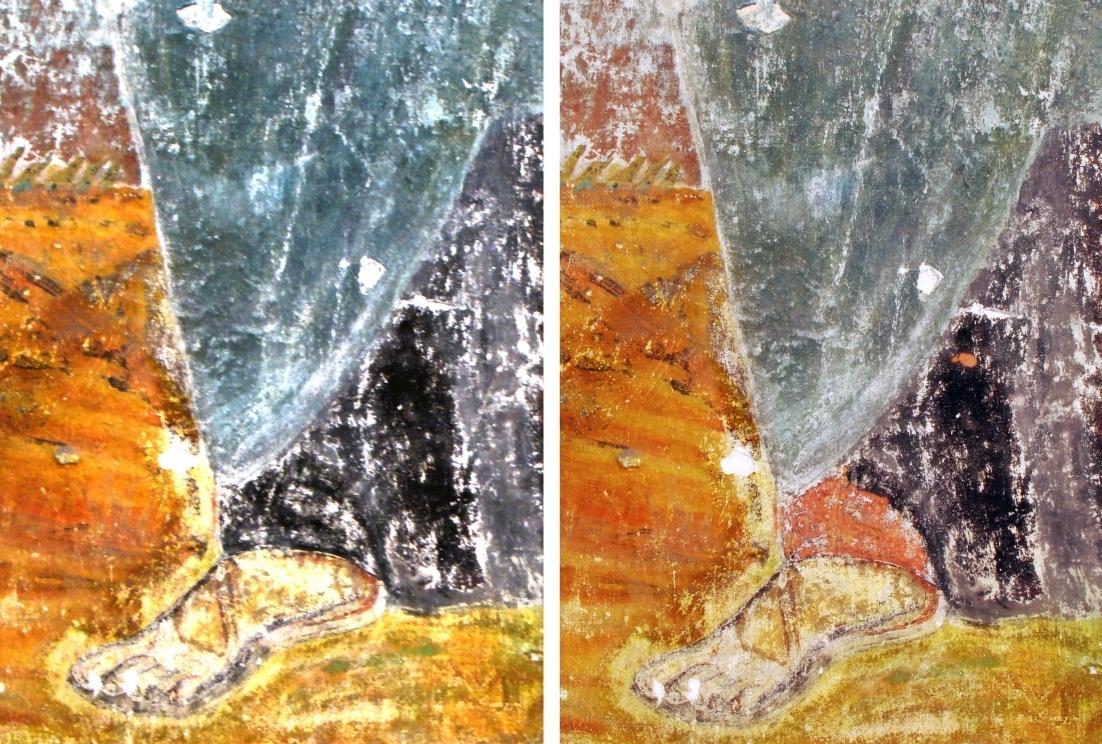Le laser permet la restauration d'oeuvres d'art.
