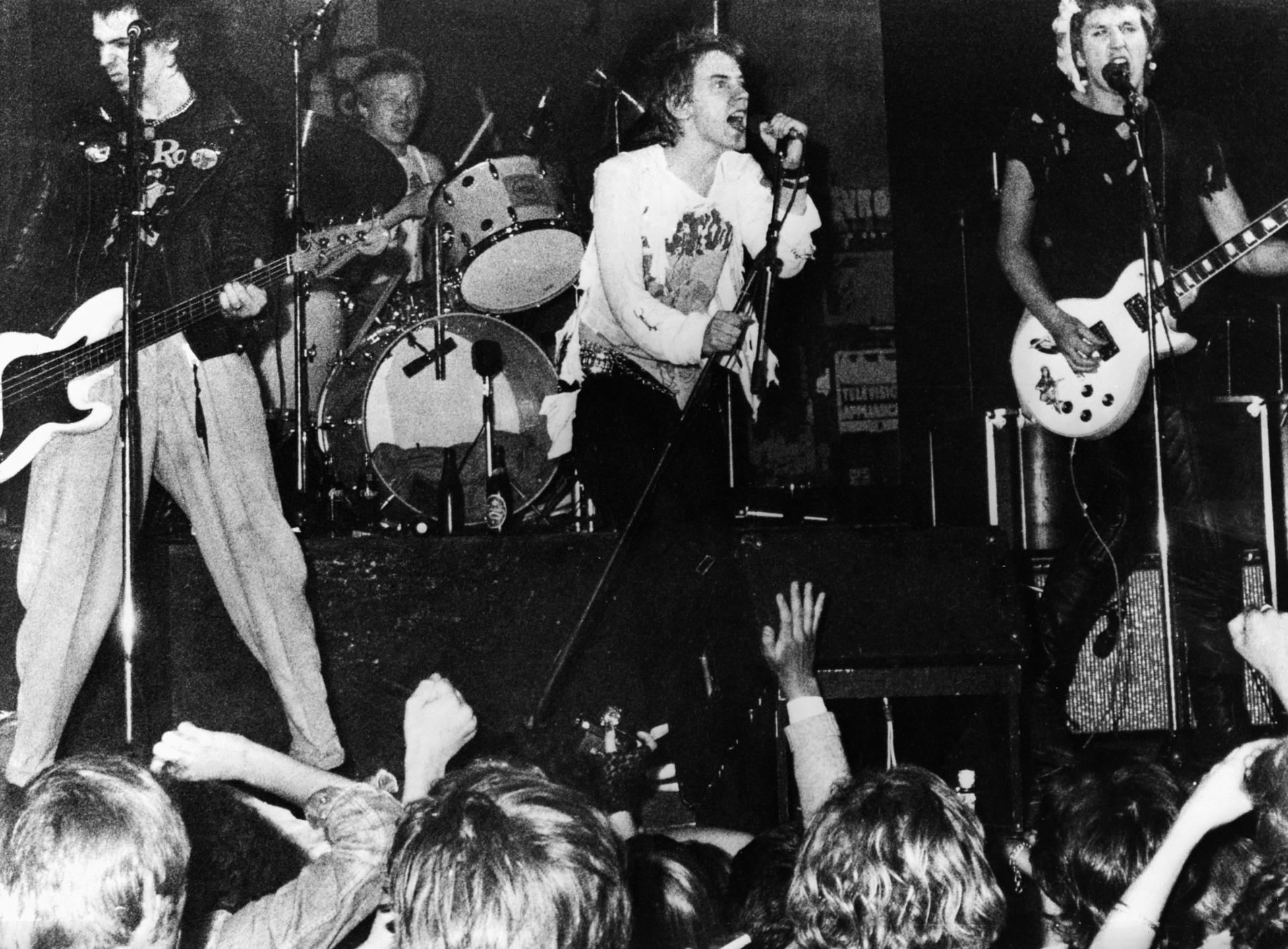 Sex Pistols en concert