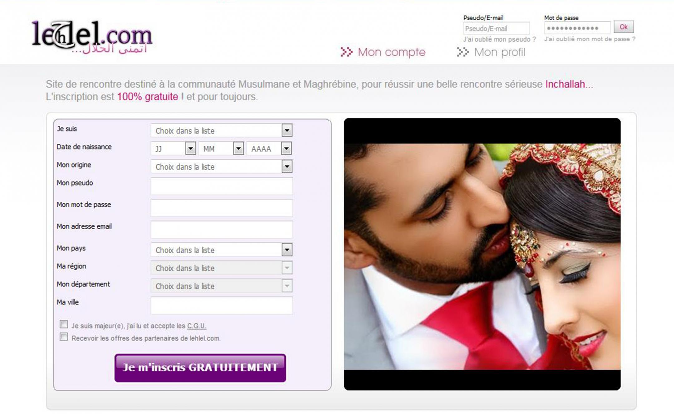 Gratuit musulman sites de rencontres monde