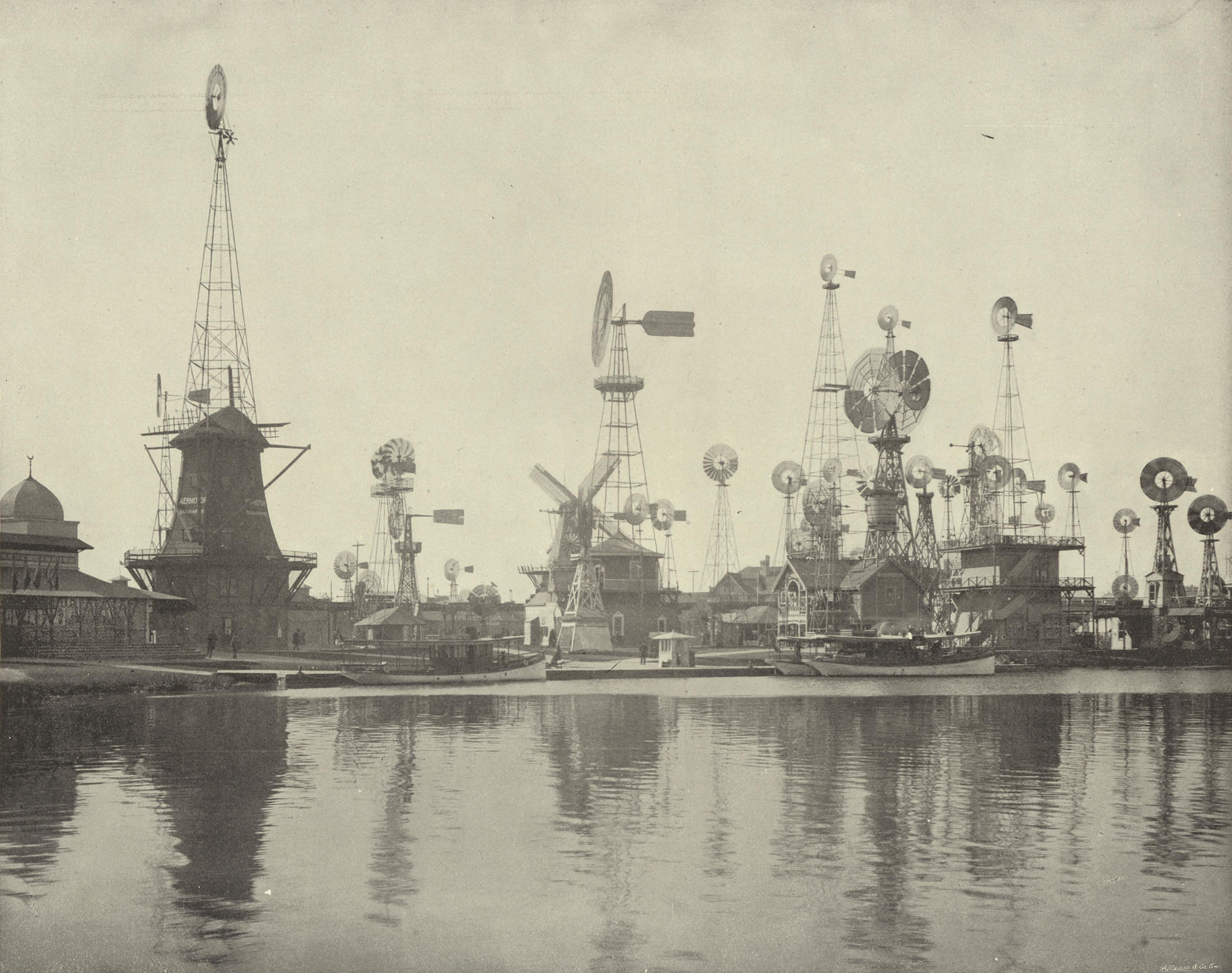 Moulins à vent, Exposition Universelle de Chicago, 1893.