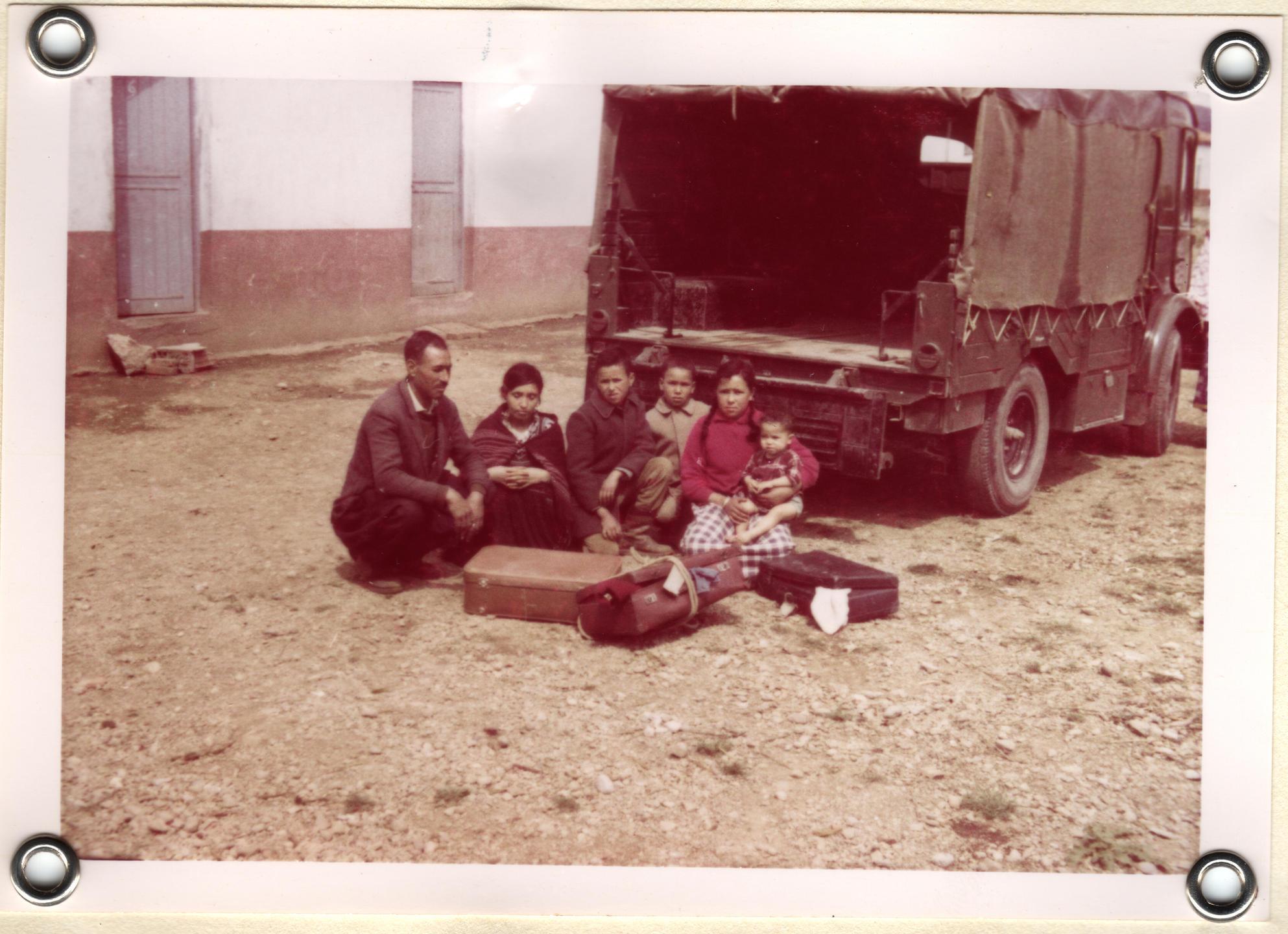 Camp de Rivesaltes, Harkis