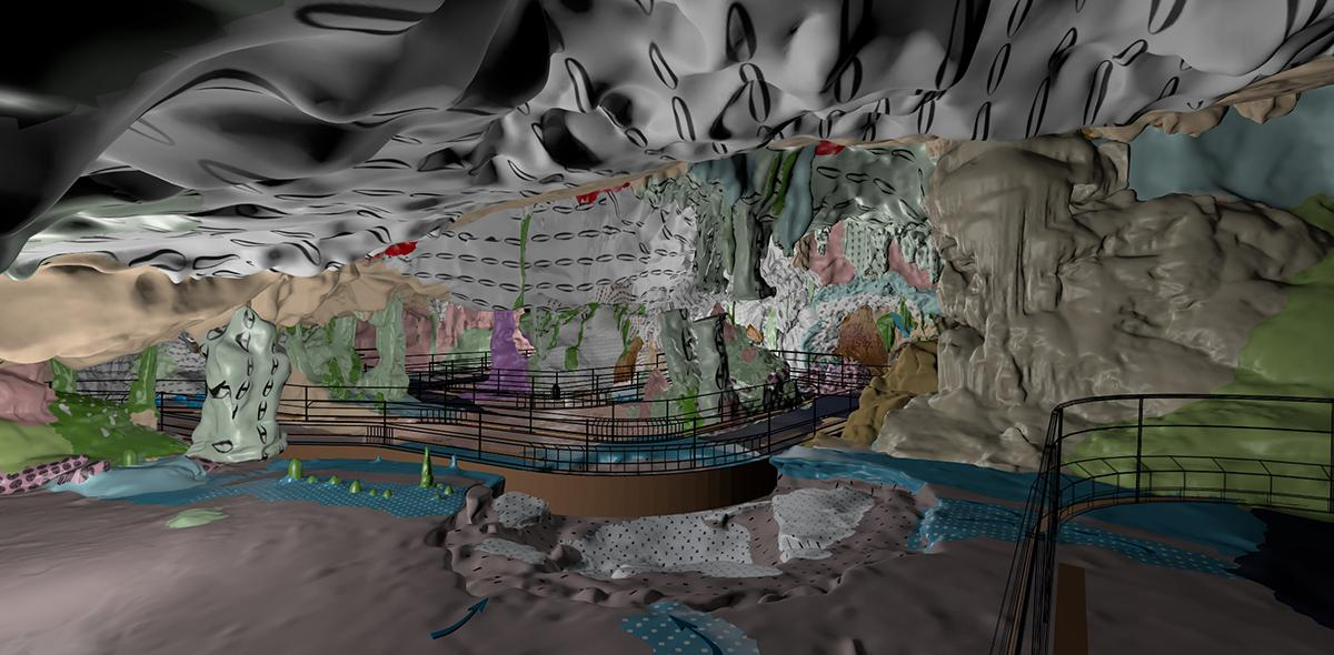 Modélisation numérique en 3D de la grotte Chauvet