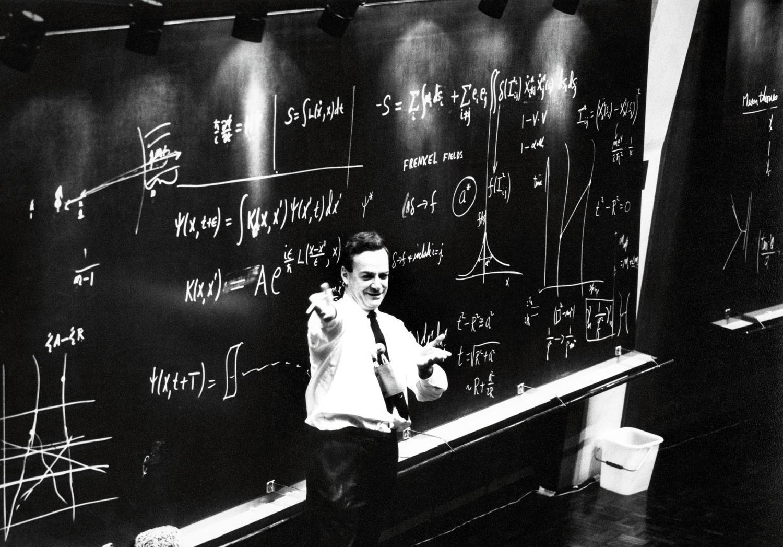 Richard feynman au CERN