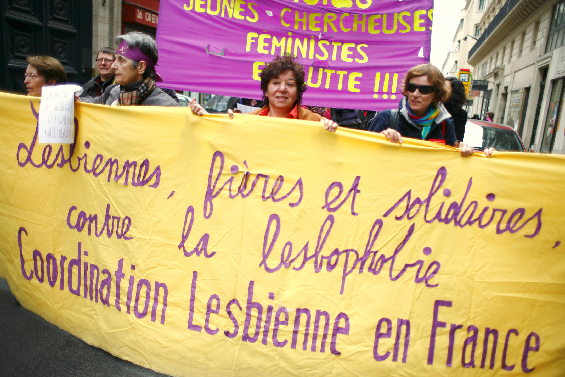 Manifestation pour la Journée internationale des femmes