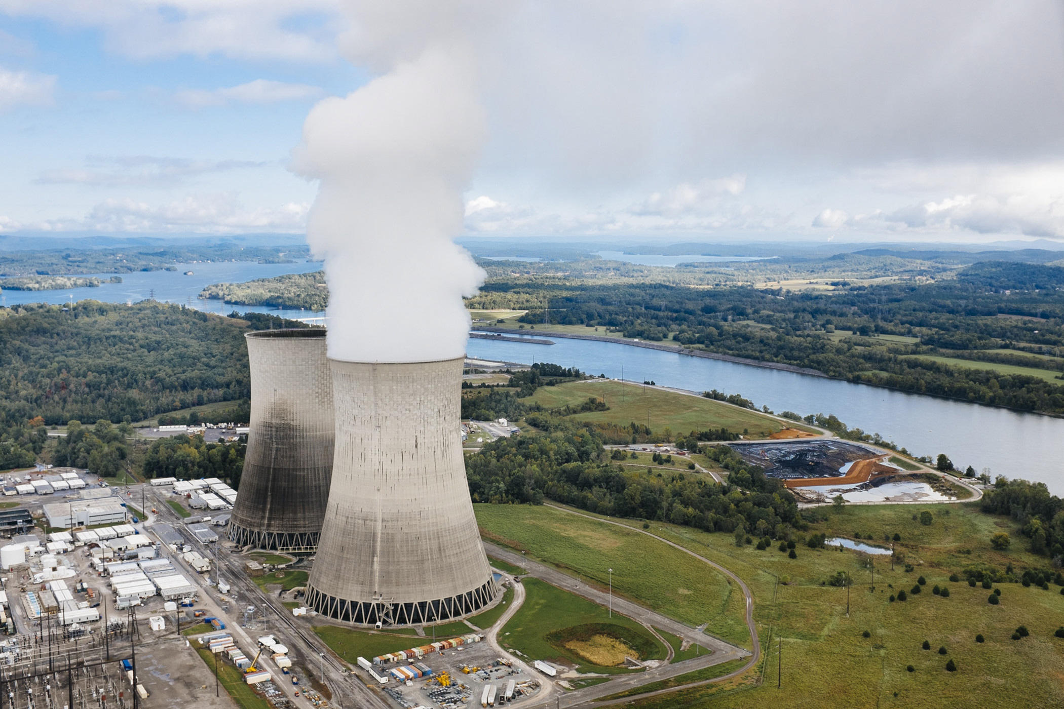 Centrale nucleaire de Watts Bar a Spring City