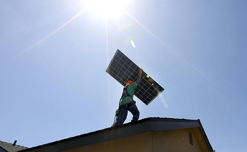 Panneaux solaires, énergie renouvelable