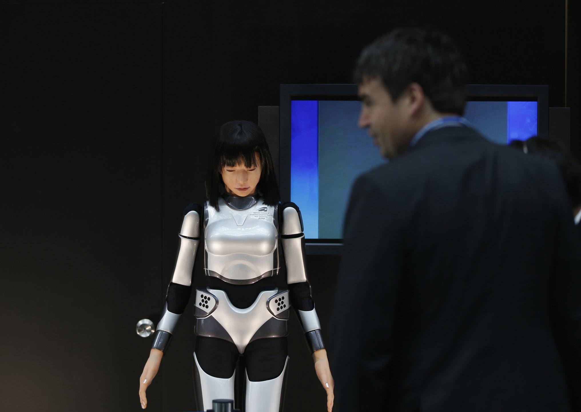 Le robot humanoïde HRP-4C