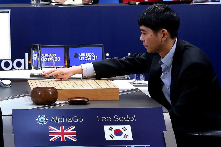 Alphago vs Lee Se-Dol