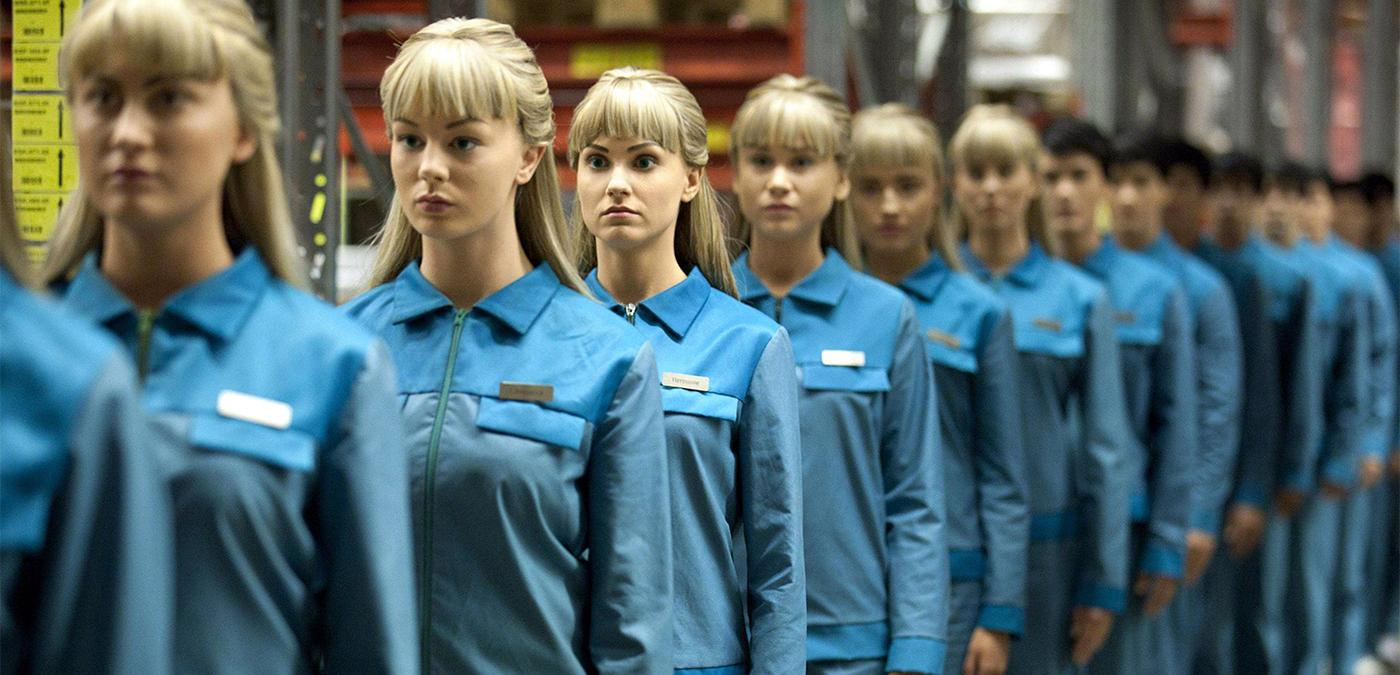 Les robots de la série TV Real humans
