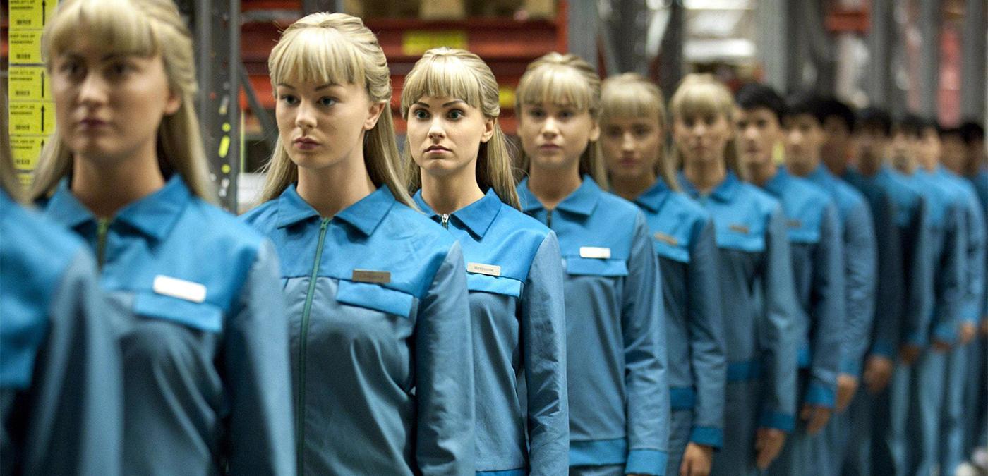 Les robots de la série TV Real humans