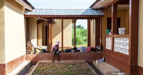 Un hôpital à Foredugu en Sierra Leone.