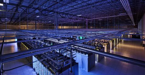 Big Data, Centre de données, stockage de données
