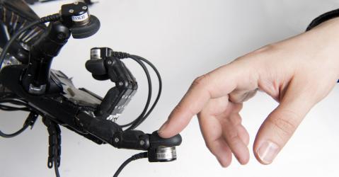 La main robotisée du projet handle project.