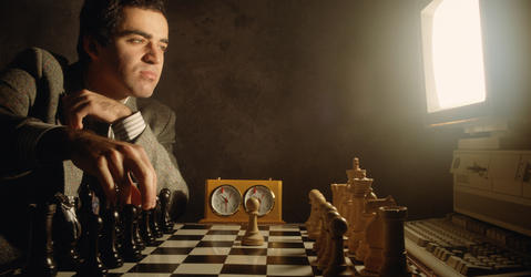 Kasparov vs Deep Blue