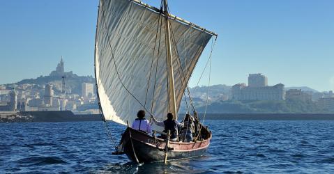 Départ du bateau Gyptis pour les côtes des anciens comptoirs massaliotes