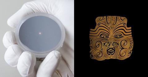 Masque maori
