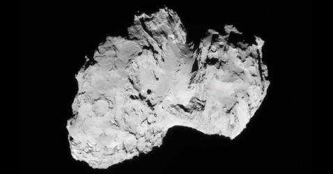 Visuel extrait du film « Rosetta : une mission hollywoodienne »