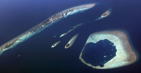 L'archipel des Maldives pourrait disparaître sous la montée des eaux océaniques.