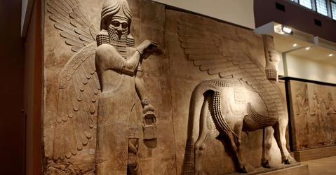 Bas-relief au Museum National de Bagdad
