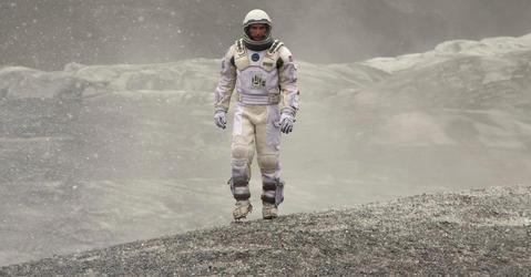 Scène du film Interstellar