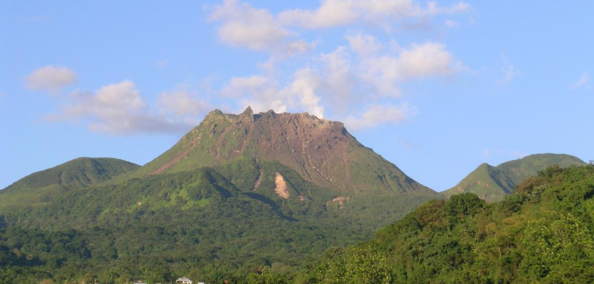 Volcan La Soufrière en Guadeloupe