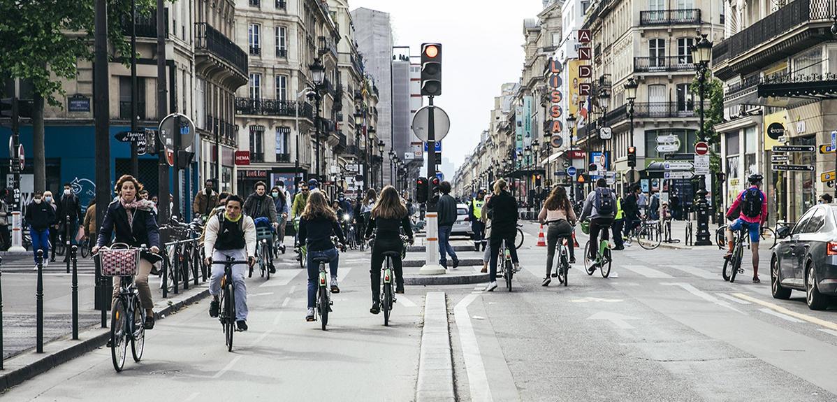 La bicyclette, petite reine de la ville