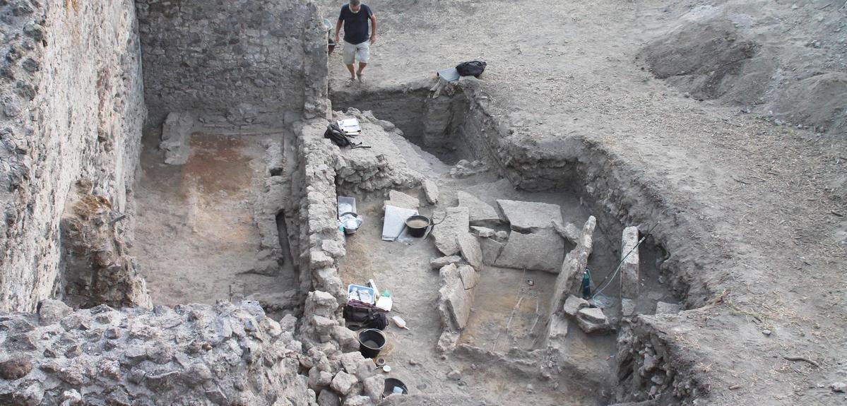 Tombe samnite découverte à Pompéï