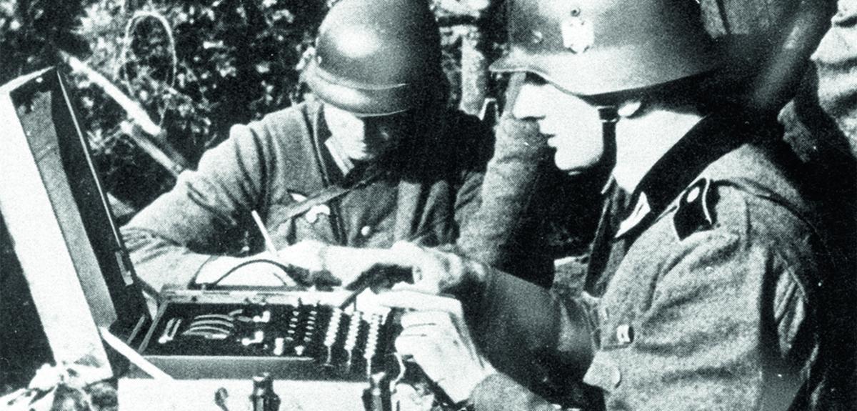 Utilisation de la machine Enigma, par les Nazis