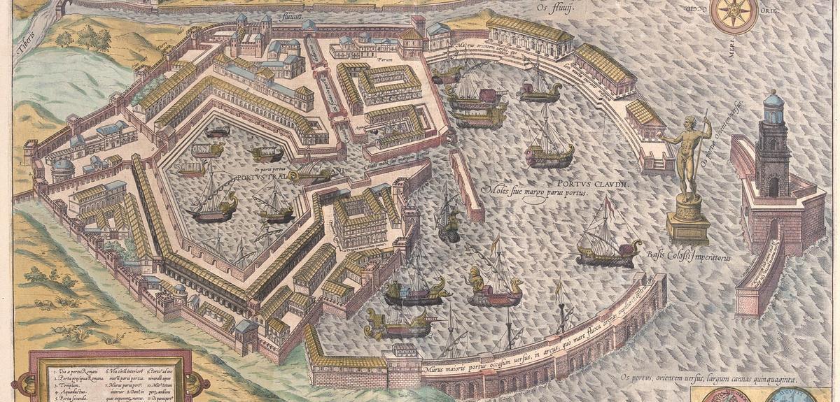 Lyon Ancienne Ville Romaine Map