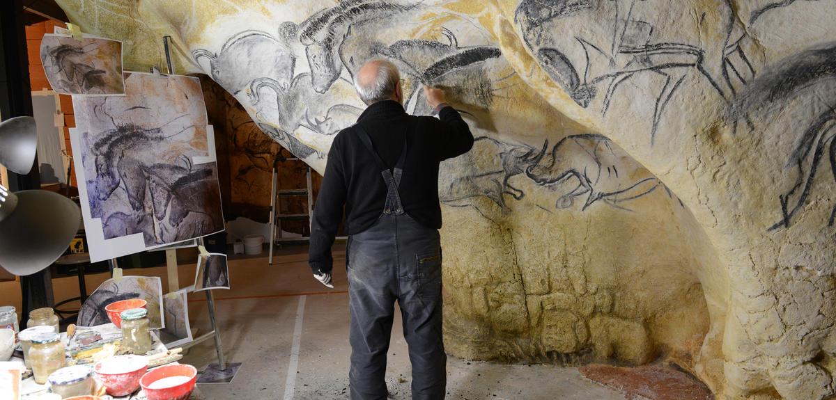 Atelier de Gilles Tosello à Toulouse.