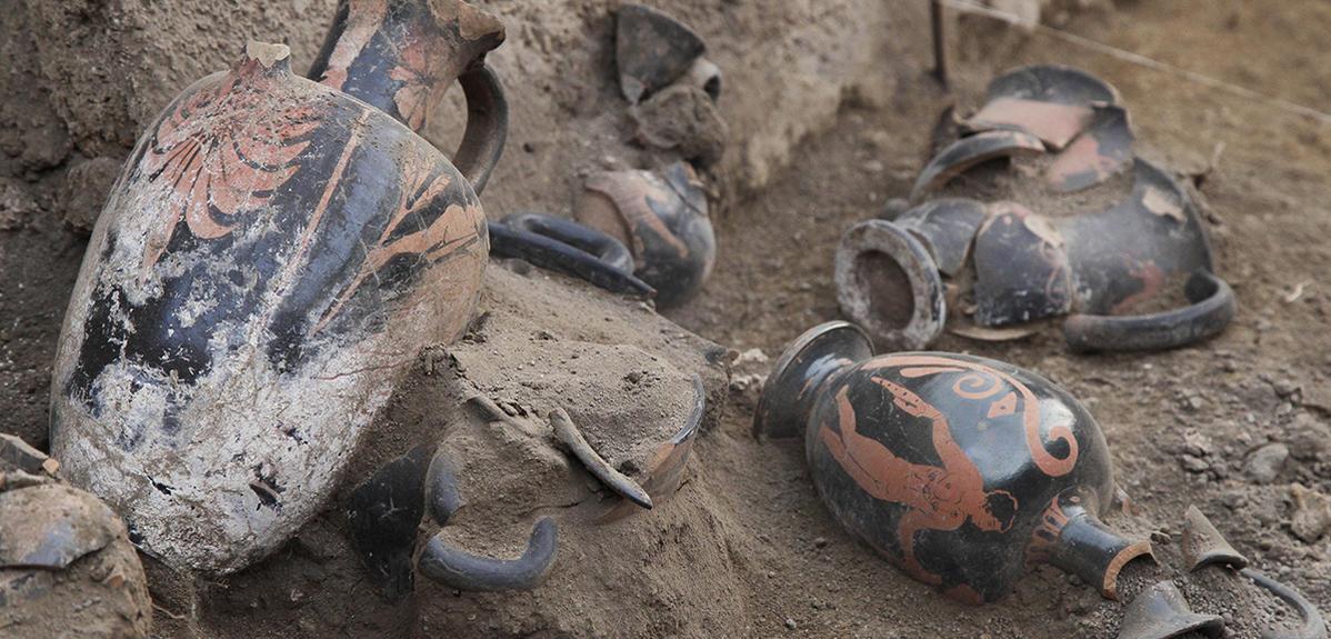Sur La Trace Des Potiers De Pompei Cnrs Le Journal