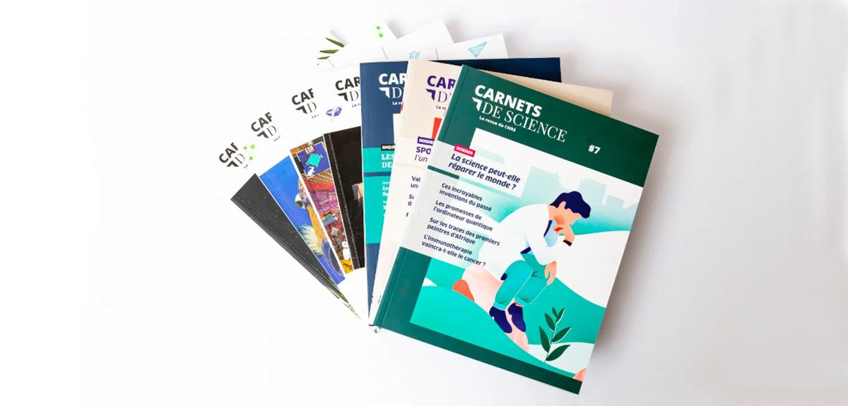 En ce moment, la collection des Carnets de science est en accès libre